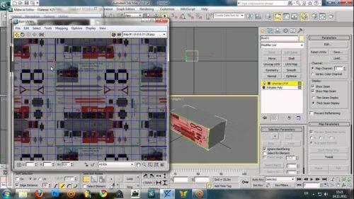 Как наложить текстуру в 3d max