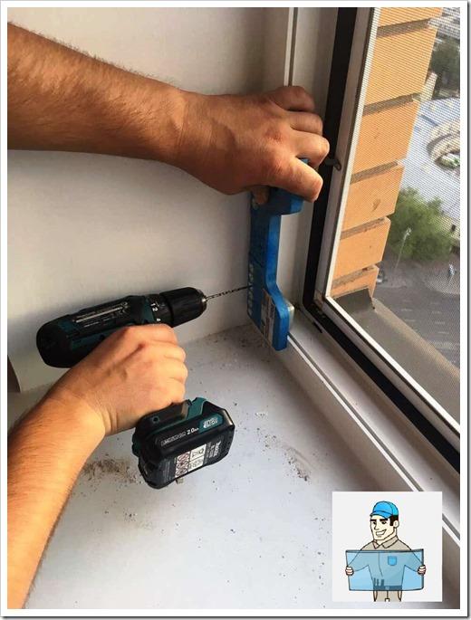 Защита металлопластикового окна: