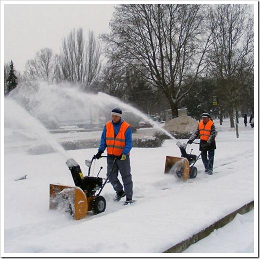 Игры трактора с уборкой снега