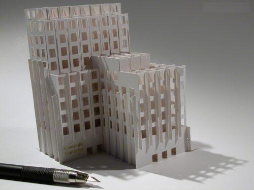 Как сделать макет многоэтажного дома