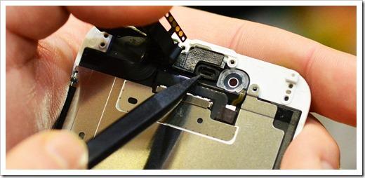 Защита шлейфов, чистка камеры