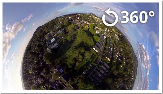 Какое оборудование используется для съёмки 360-градусного видео?
