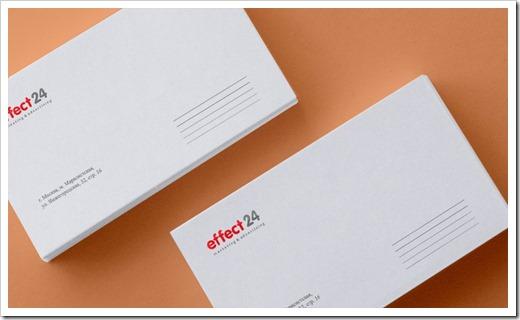 Предлагаемые виды конвертов